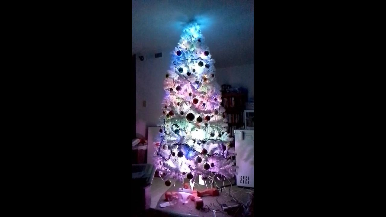Hue christmas tree - YouTube