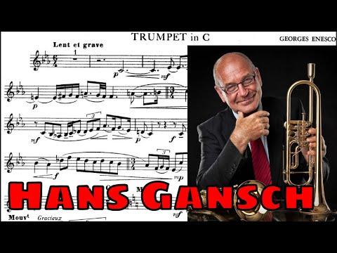 ♫♬George Enescu - Legend (Hans Gansch)