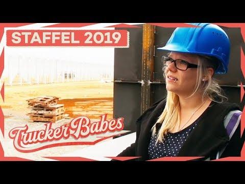 Manu auf der Baustelle in Frankreich: Sie hat Angst um ihren 40 Tonner | Trucker Babes | kabel eins