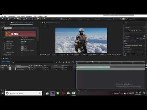 How to Remove Green Screen in Adobe After Effects CC Tutorial   bangla tutorial thumbnail