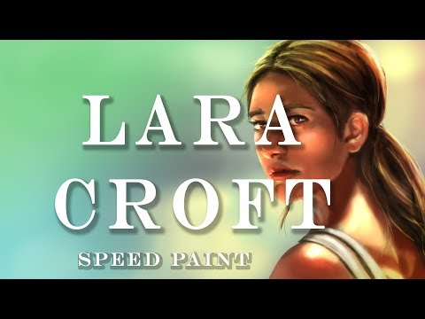 Tomb Raider- Speed Paint