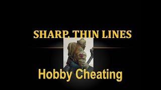 Hobby Cheating 133 - How to Paint Sharp, Thin Lines