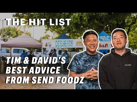 Timothy DeLaGhetto and David So's Tips on Surviving Food Festivals || The Hit List