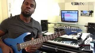 FULL BREAKDOWN - Progressive Metal Lick 7 - Al Joseph | JamTrackCentral.com