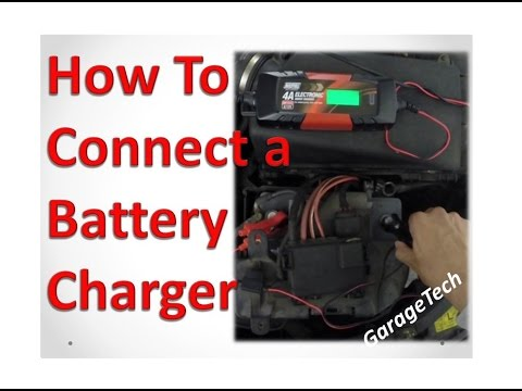 How To Connect Car Battery Charger