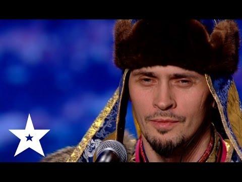 Горловое пение от Тюргена - Україна має талант-6 - Ка�тинг в Донецке
