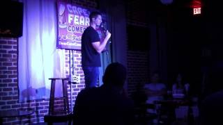 Reel Cafe Mark Brady Cape Fear Comedy Festival 2017