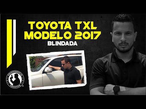 Toyota TXL 2017 Blindada.