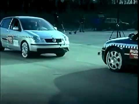 crash test volkswagen polo youtube. Black Bedroom Furniture Sets. Home Design Ideas