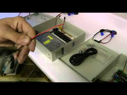 Pc Switching Power Supply Wiring Diagram How To Connect Your Cabling Into A 12v Dc Central Power