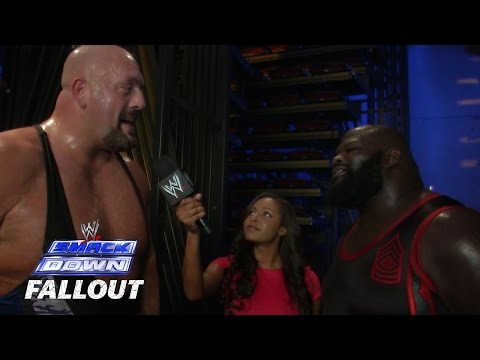 Big Show & Mark Henry Do It Again - SmackDown Fallout - Aug. 15, 2014
