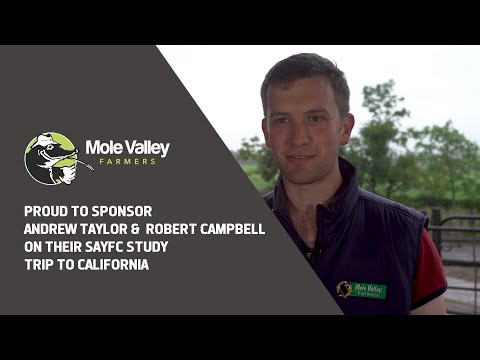 Mole Valley Farmers sponsor Scottish Young Farmers on California Study tour