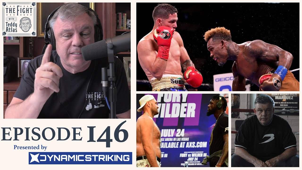Teddy Atlas on Fixed Fights, Charlo vs Castano, Fury Wilder 3 Conspiracies + BoxRaw Collaboration