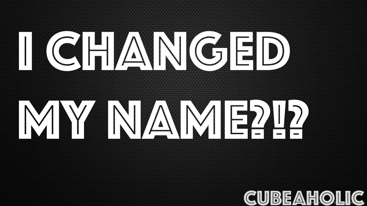 how to change my youtube url name