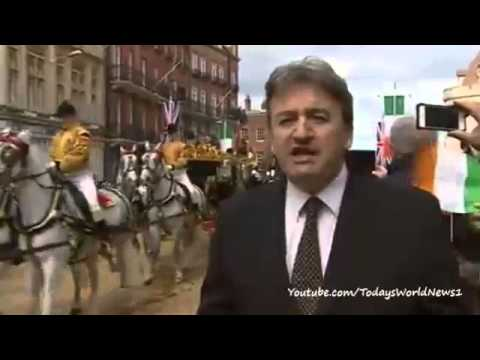 Irish President Michael D Higgins in historic UK visit