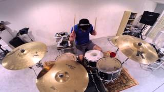 The Plot To Bomb The Panhandle - A Day To Remember - Drum Cover - GoPro Hero3+