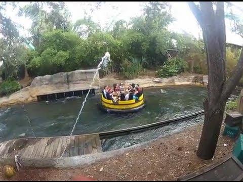 Congo River Rapids Busch Gardens Tampa Florida Youtube
