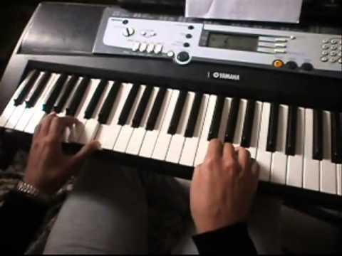 Por ti volare time to say goodbye teclado keyboard for Porte volare
