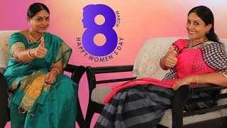 Dual-role of Saranya Ponvannan | Exclusive Self Interview | Women's Day Special Video