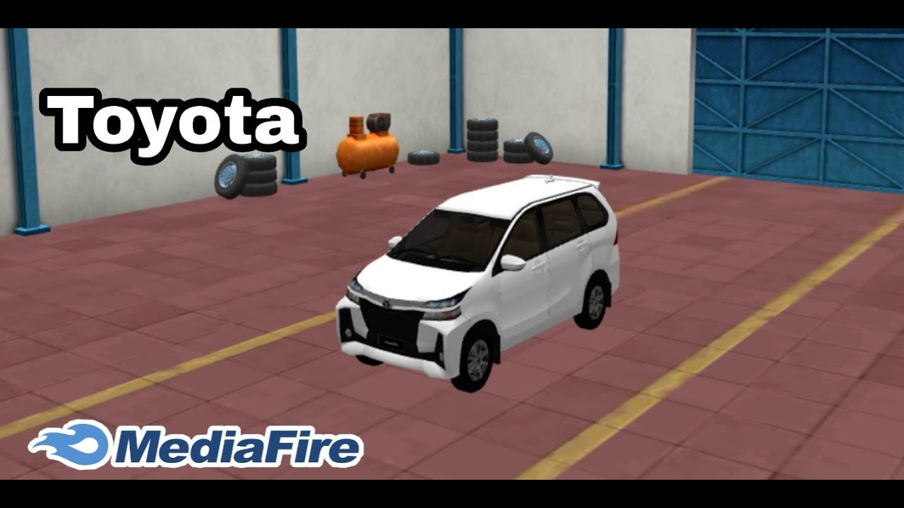 How To Add Toyota Avanza Facelift Car Mod In Bus Simulator Indonesia Bussid Youtube