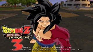 Dragon Ball Z Budokai Tenkaichi 3: Super Saiyan 4 Goku vs. Baby Vegeta! (Dragon Ball GT)
