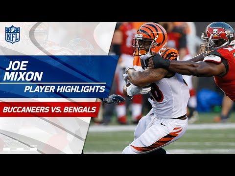 Every Joe Mixon Touch vs. Tampa Bay | Bucs vs. Bengals | Preseason Wk 1 Player Highlights