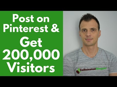 🔥 How To Post on Pinterest & Get 200k Visitors | Create Amazing Pinterest Images