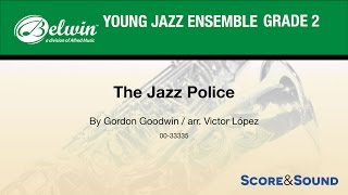 The Jazz Police arr. Victor López - Score & Sound