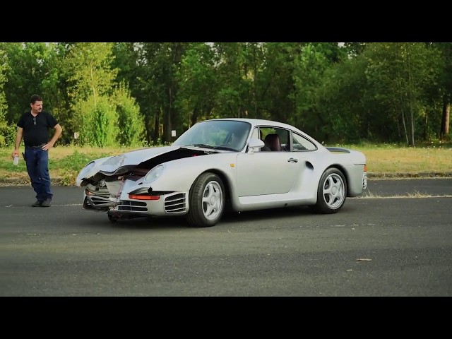 1987 Porsche 959 With Damaged Front End Heads To Auction The Drive