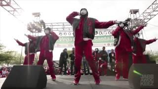 Jabbawockeez at Las Vegas 2012 Christmas Gangnam Style Mix] [ Michel Jakson Mix] HD