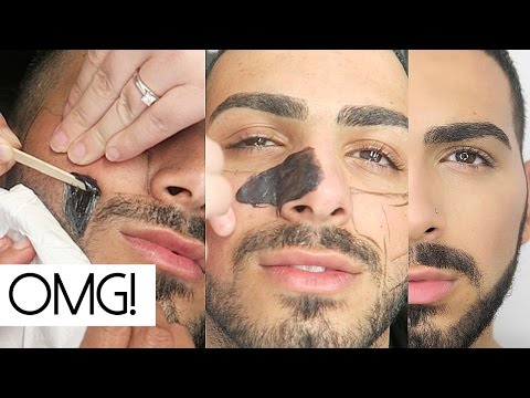 Beard Waxing No More Shaving Facial Waxing Salihs World Youtube