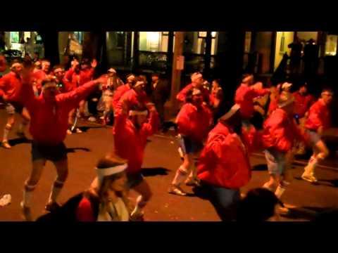 Mardi Gras New Orleans Uptown 2014 Part 1