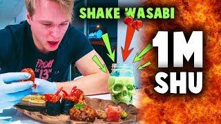 NAJOSTRZEJSZE SUSHI w WARSZAWIE CHALLENGE (1000000 SHU) | [Epic Hot Meal]