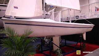 2015 Catalina 16.5 K Sail Boat - Walkaround - 2015 Toronto Boat Show