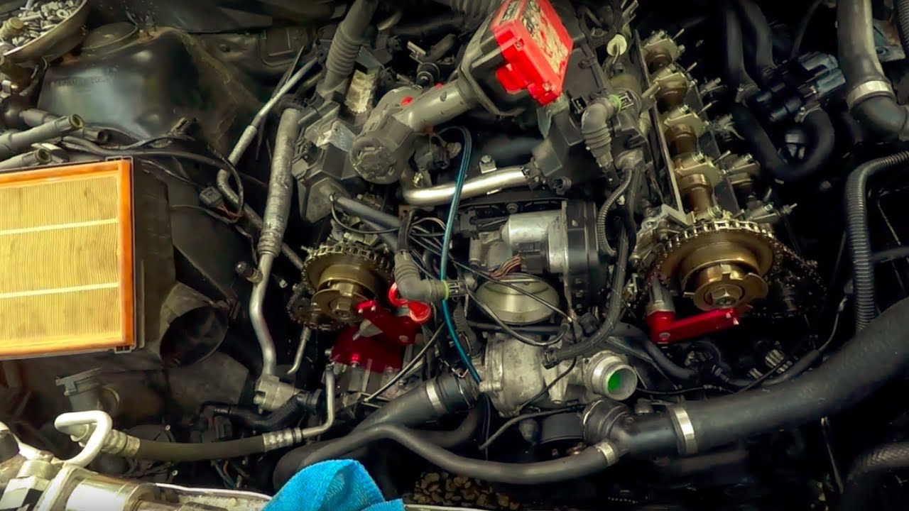 S Video Cable Diagram Where Are Your Lymph Nodes Located Bmw 4.4l M62tu Engine Timing Procedure With Germanautosolutions.com Vanos Kit - Youtube