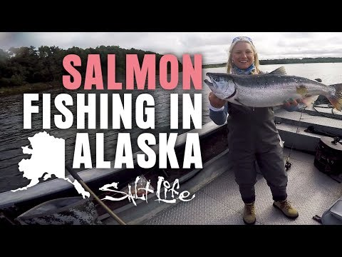 Fishing For Giant Alaskan Salmon | Salt Life