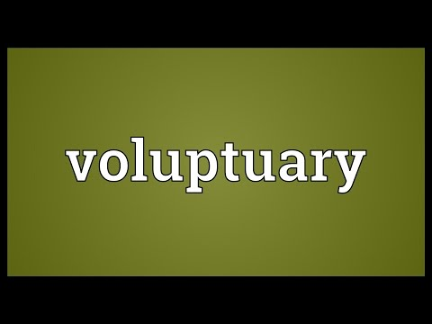 Header of voluptuary