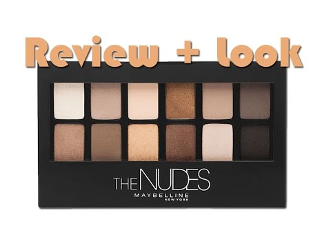 "Review + Look ""The Nudes"" (Maybelline)"