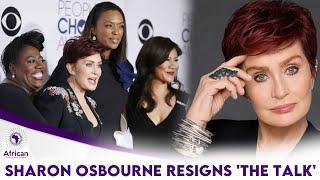 Sharon osbourne leaves 'the talk'
