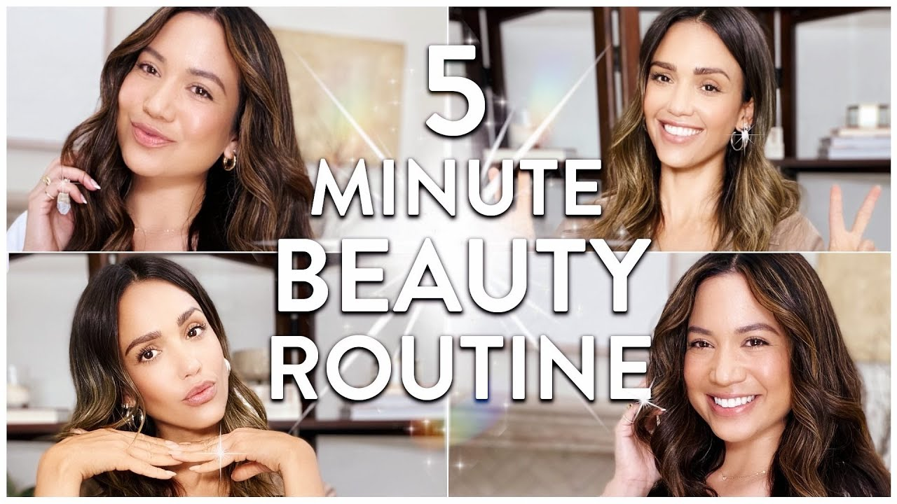 Download 5 Minute Beauty Routine with Jessi Malay | JESSICA ALBA