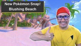 New Pokémon Snap! Blushing Beach on Nintendo Switch