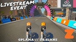 Zwift Giro Prologue: GPLama & Dr.SLane Livestream