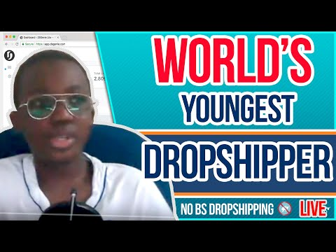12 Yr Old Running an eBay Dropshipping Business | Youngest Dropshipper In the World LIVE Q&A