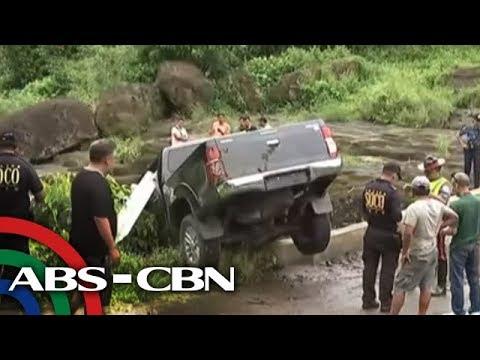 TV Patrol: Sasakyan ng umano'y pumaslang sa Trece Martires vice mayor, natunton