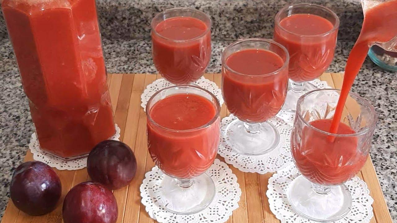 عصير الفواكه المنعش بمذاق اكثر من رائع طبيعي و بكمية و فيرة Youtube Alcoholic Drinks Alcohol Rose Wine