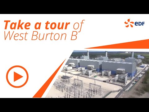 Take a tour of West Burton B power station