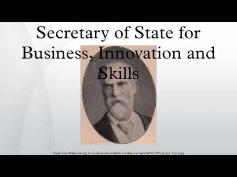 Secretary of State for Business, Innovation and Skills