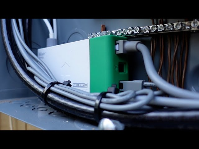 How To Install a SMART ENERGY MONITOR in Your ELECTRICAL PANEL