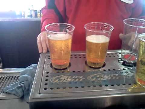 Beer Glasses That Fill From The Bottom