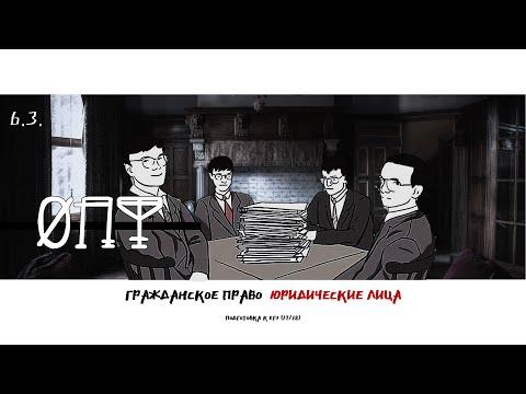Право. №6.3. Юридические лица (организационно-правовые формы). Гр. Виноградова. ЕГЭ (17/18)
